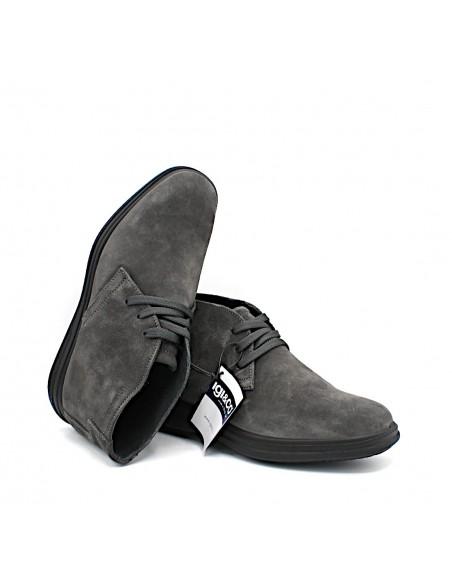 Igi & Co. scarpe da uomo polacchine in camoscio color fango 4108844