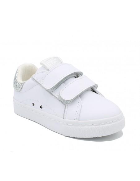 Gioseppo scarpe da bambina sneakers con strappi in pelle Nola