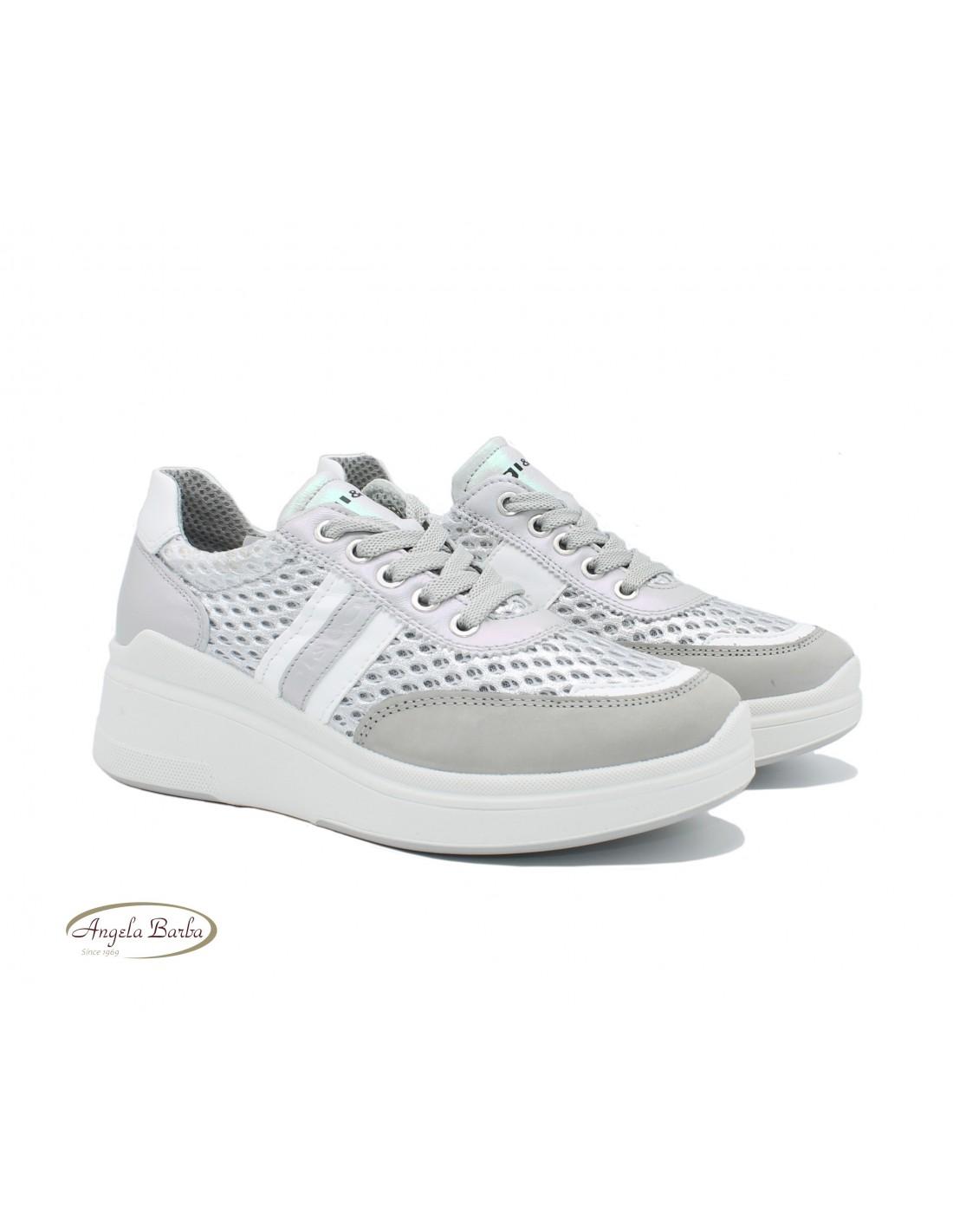 Igi e Co scarpe da donna sneakers con zeppa alta intera casual sportive  estive   eBay