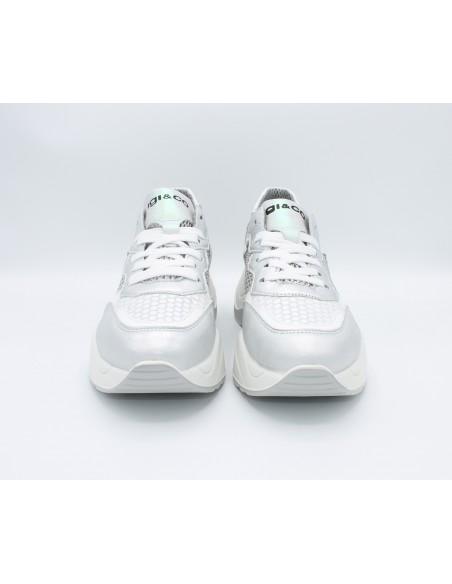 Igi & Co. scarpe da donna con zeppa platform sneakers Argento 5168044