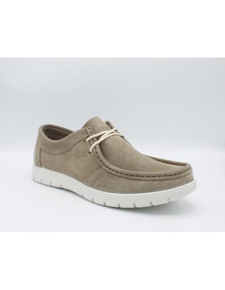 Igi & Co. scarpe da uomo in camoscio jeans casual sportive 5115500