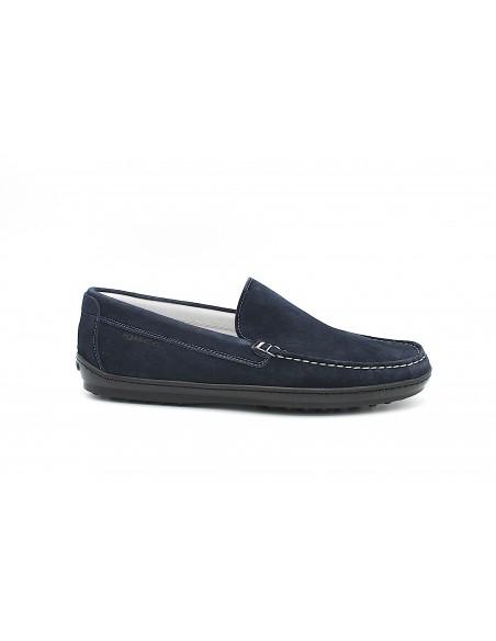 Igi & Co. scarpe uomo mocassini in camoscio blu 5111300