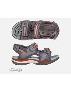 Geox sandali da bambino con strappi Navy/Royal Borealis J020RD