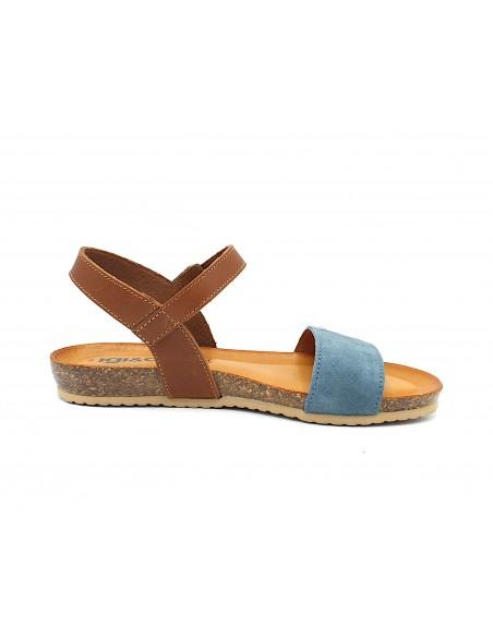 Igi & Co. sandali donna bassi in pelle jeans 5197122