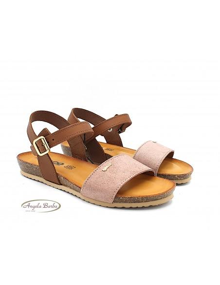 Igi & Co. sandali donna bassi in pelle cipria 5197166
