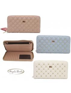 XTI portafoglio da donna grande porta carte di credito 86296
