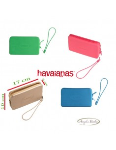 Havaianas mini borsa da spiaggia mare pochette Fragola Verde
