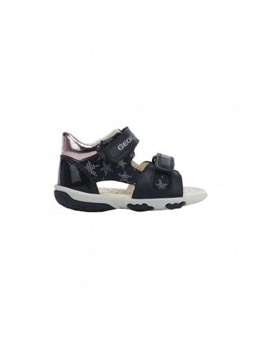 Geox sandali da bambina primi passi bianco Alul B021YB