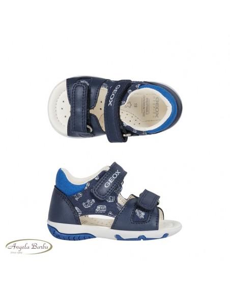 Geox sandali da bambino primi passi blu Elba B02L8B