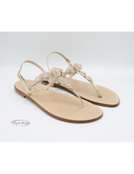 Sandali Artigianali da donna in cuoio gioiello Capri Positano Capresi