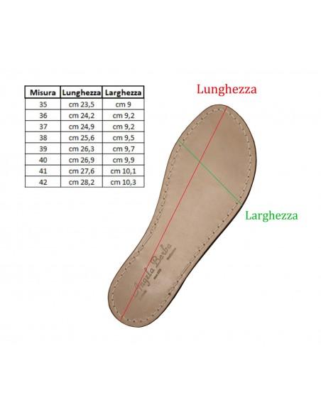 Sandali Artigianali da donna in cuoio fatti a mano moda Capri Positano Aurora