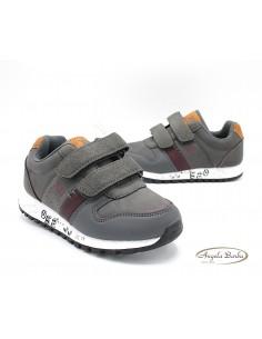 XTI scarpe da bambino con strappi sneakers navy 57323