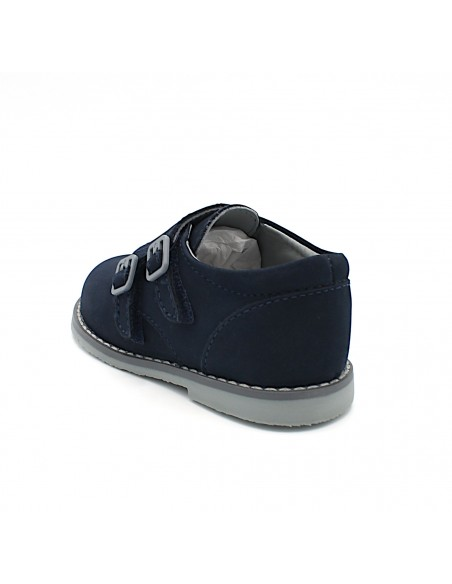 Mayoral scarpe da bambino per cerimonia in pelle blu con strappo 42160