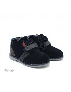 Mayoral scarpe da bambino polacchine in camoscio con strappi 42162