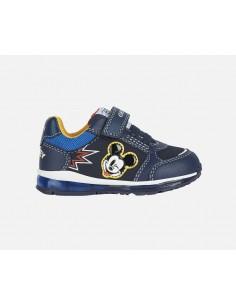 Geox scarpe da bambino con luci Mickey Mouse Topolino B0484B Todo