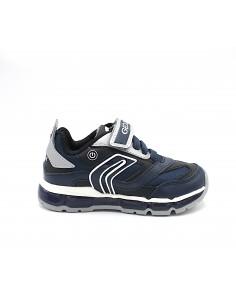 Geox scarpe da bambino con luci sneakers Android Blu J0444B