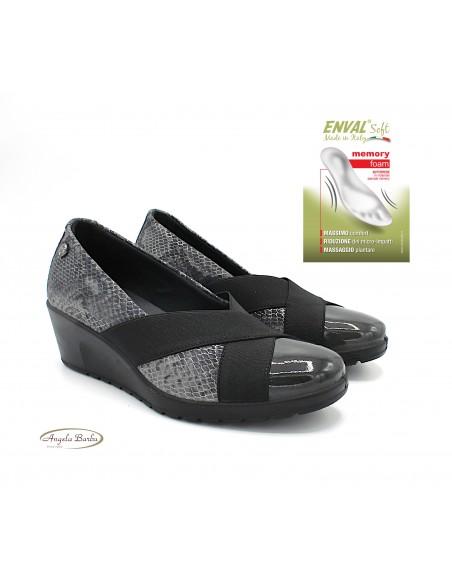 Enval Soft scarpe da donna decoltè con zeppa linea comoda 6273411