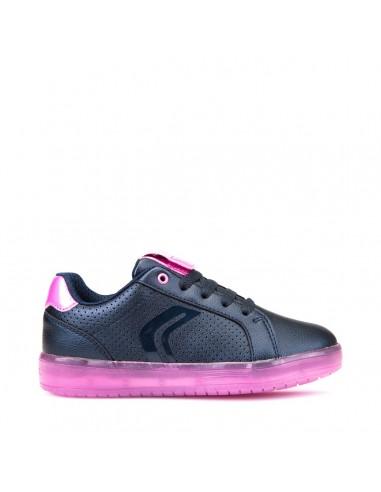 Geox junior scarpe con luci led colorate ricaricabili cavo usb Kommodore J744HA Angela Barba