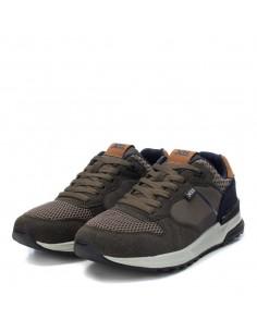 XTI scarpe da uomo sneakers con sottopiede in Memory Foam Kaky 44245