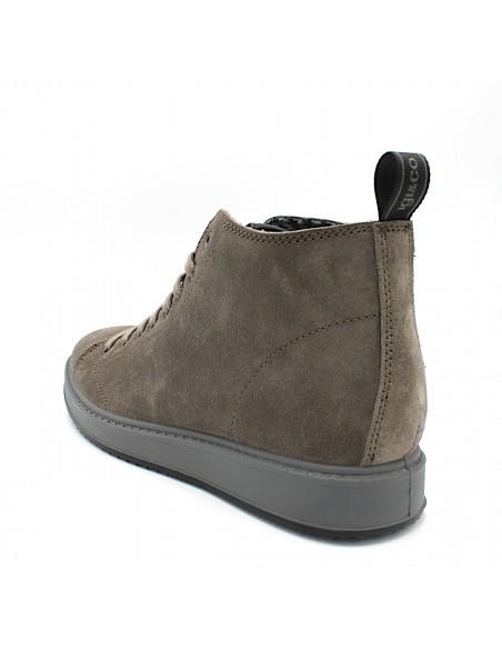 Igi & Co scarpe da uomo in camoscio fango polacchine con lacci 61303222