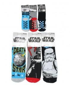 Disney calzini antiscivolo per bambini in cotone caldo per casa Star Wars