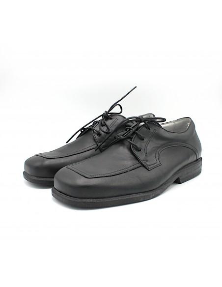 Arcopedico scarpe da uomo in pelle nero comode eleganti Nautilus