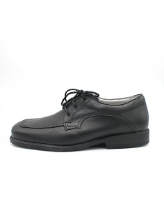 Arcopedico scarpe uomo in morbida pelle nero modello Nautilus
