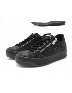 Igi & Co scarpe da donna in pelle fango con sottopiede estraibile sneakers 6162522