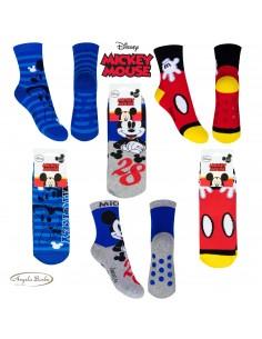 Disney calzini antiscivolo per bambini in cotone caldo per casa Topolino