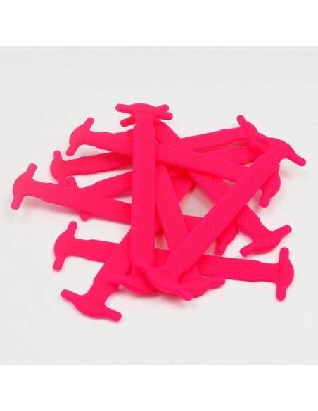 Lacci elastici per scarpe in silicone piatti colorati da uomo donna bambini iBaps