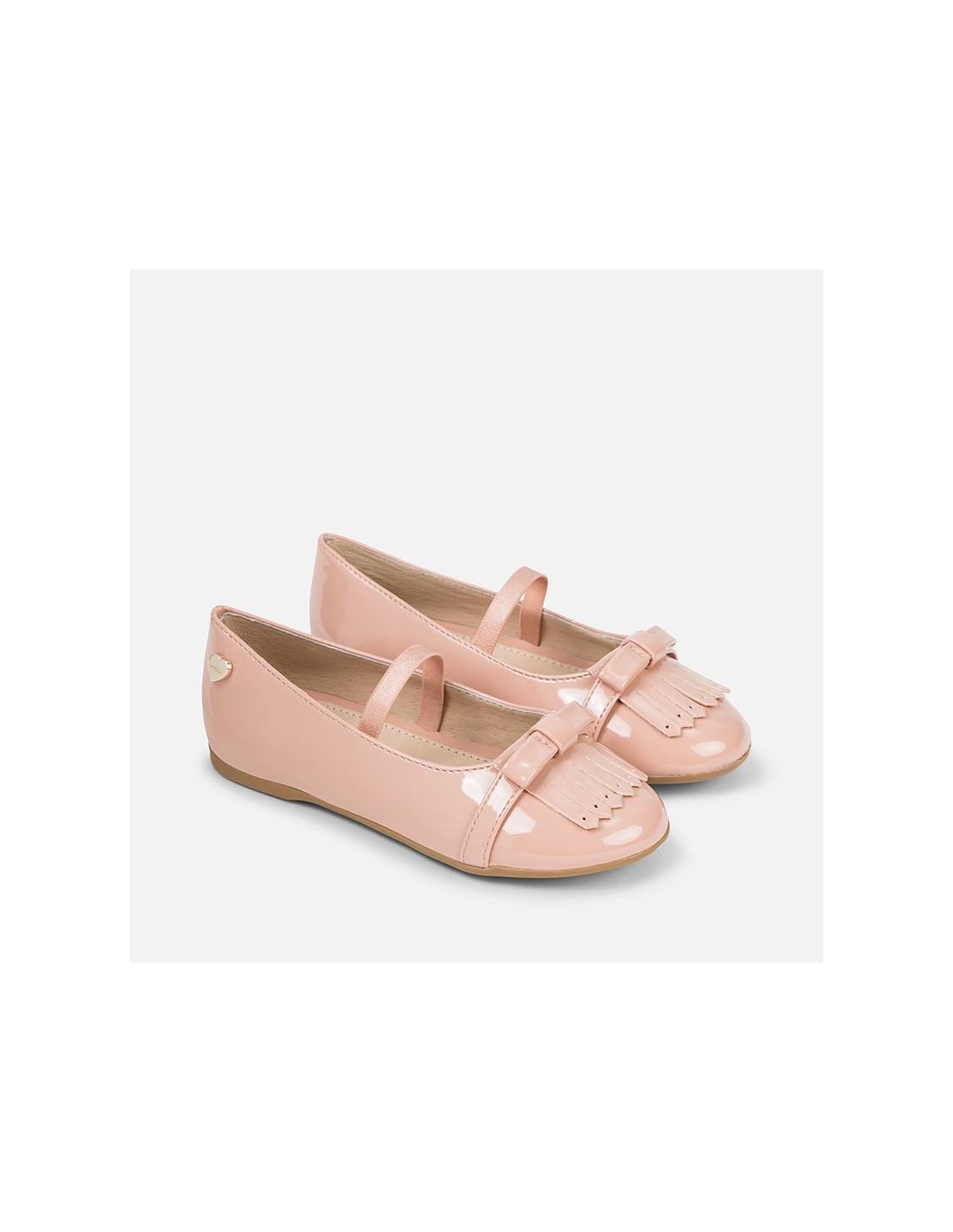 sneakers for cheap d4e3c b968f Mayoral scarpe bambina ballerina con frange vernice cipria 44711 46711  48711 - Angela Barba