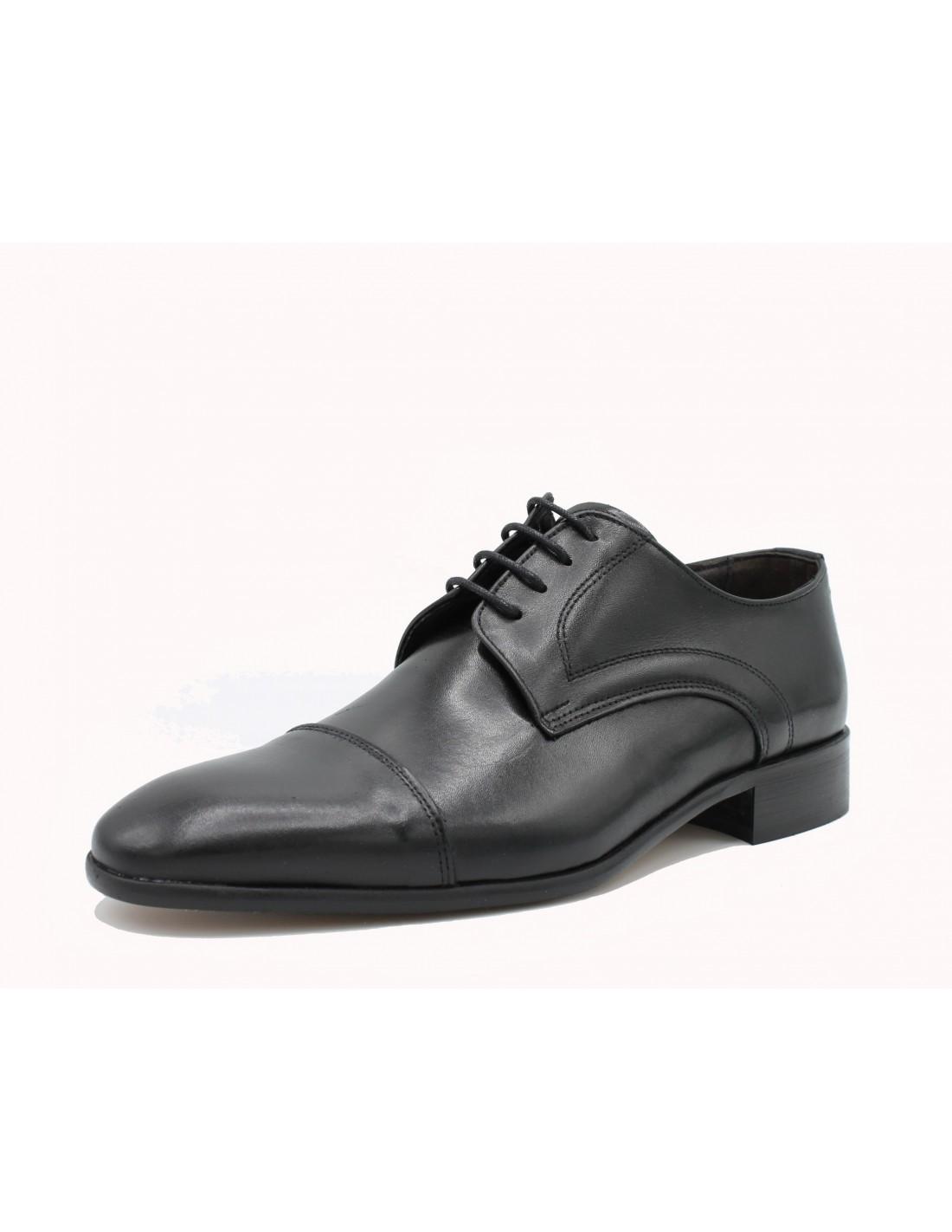 Scarpe da Uomo Classiche in Pelle Eleganti per Cerimonia Made In ... 028e6570cc1