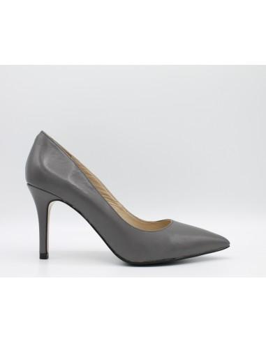 Cafè Noir scarpe donna Décolletes pelle Grigio MH101