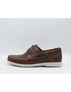 IGI & CO. UIO 1112722 scarpe uomo modello da barca stringate in pelle cuoio