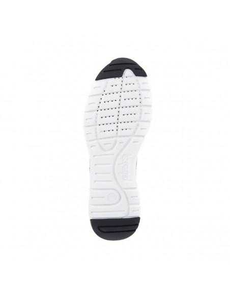 GEOX CALAR U722GA Scarpe uomo sneakers in camoscio e tela Navy/Dk. Navy