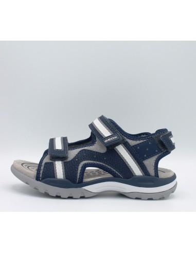 migliori scarpe da ginnastica b7043 863b1 geox sandali ragazzo bambino in pelle e etessuto