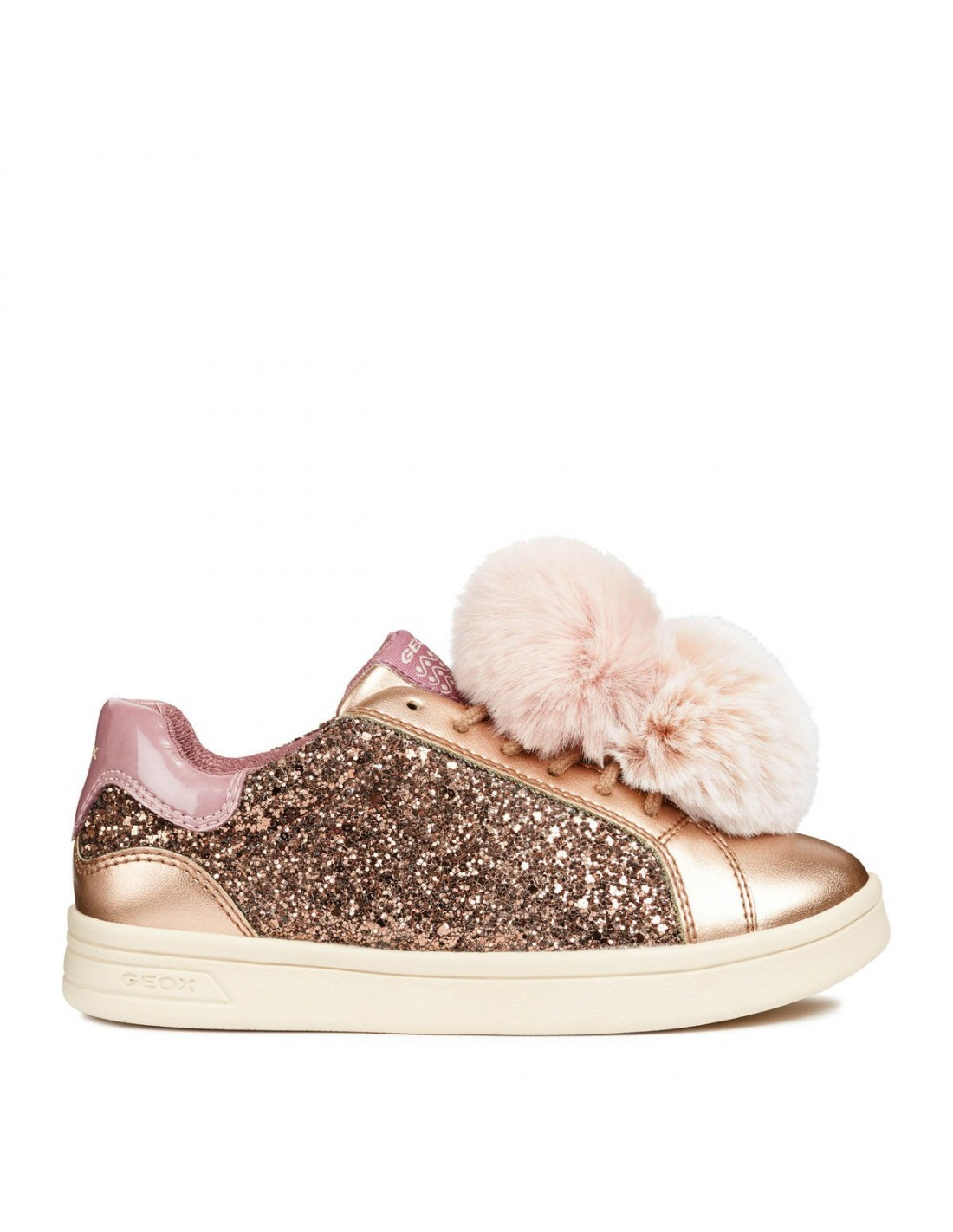 Bambina Ragazza Lacci Pelliccia J824md Pelle Scarpe Sneakers Geox zGjSUVpLqM