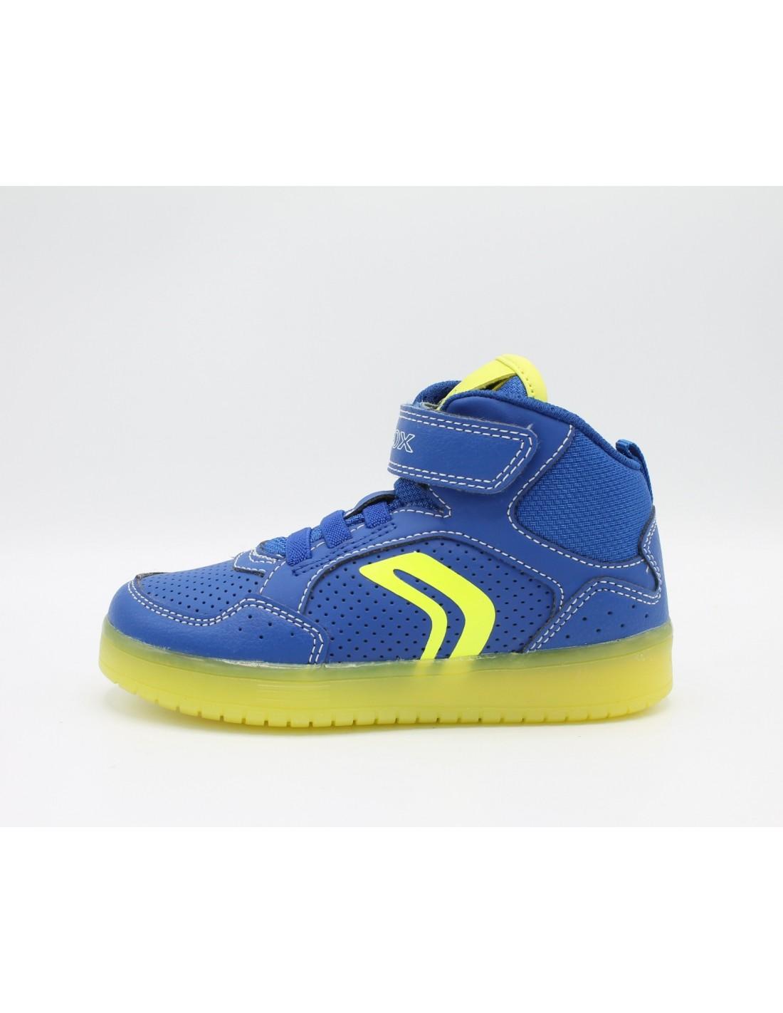 Con Sneakers Da Led Geox Alte Luci Kommodor Bambino Strappo Scarpe qxUTHf