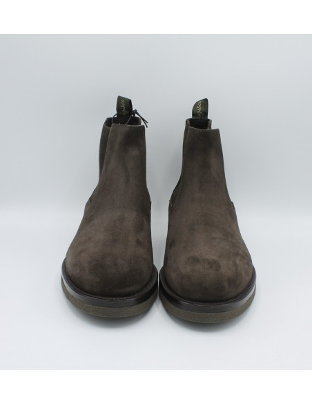 Igi & Co. Stivaletti da uomo in camoscio grigio chelsea 2108500