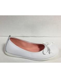 Gioseppo scarpe bimba/ragazza/donna ballerine in pelle bianco con fiocco, Ainara