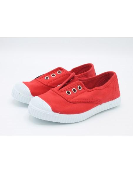 Cienta scarpe da bambino slip on in tela con gomma profumata 70997
