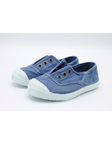the latest 043b6 8eada Cienta scarpe da bambino slip on in tela con gomma profumata 70777 Lavanda  - Angela Barba