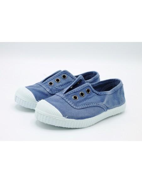 Cienta scarpe da bambino slip on in tela con gomma profumata 70777 Lavanda