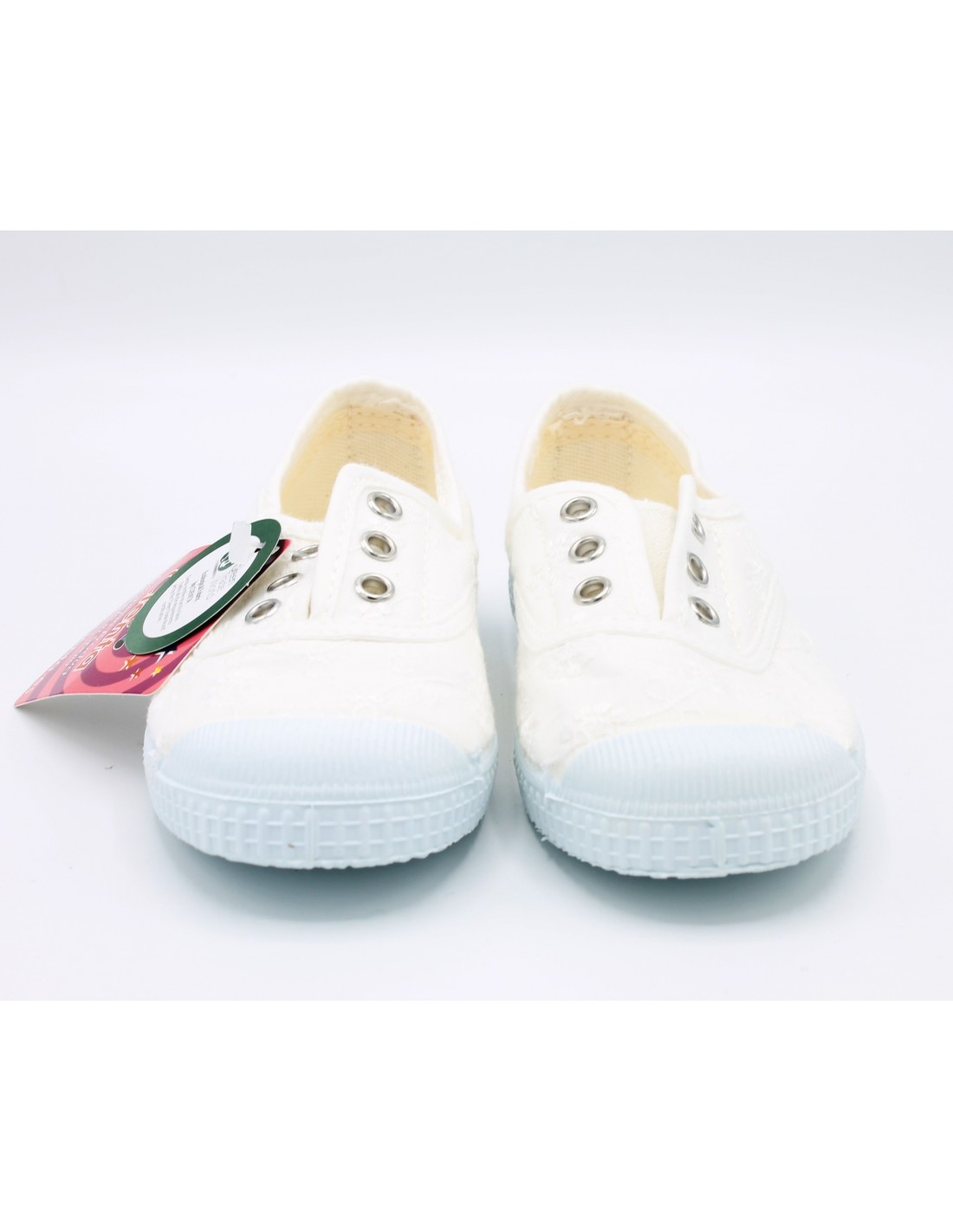 fdd012ddbd2cd Cienta Chaussures de Fille Baskets pour Jeunes Blanc Tennis Bébé à ...