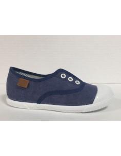 Gioseppo scarpe slip-on bimbo/ragazzo in tela jeans punta in gomma, art. Murren