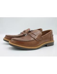 Igi & Co Mocassini da uomo in pelle blu college scarpe 3101800