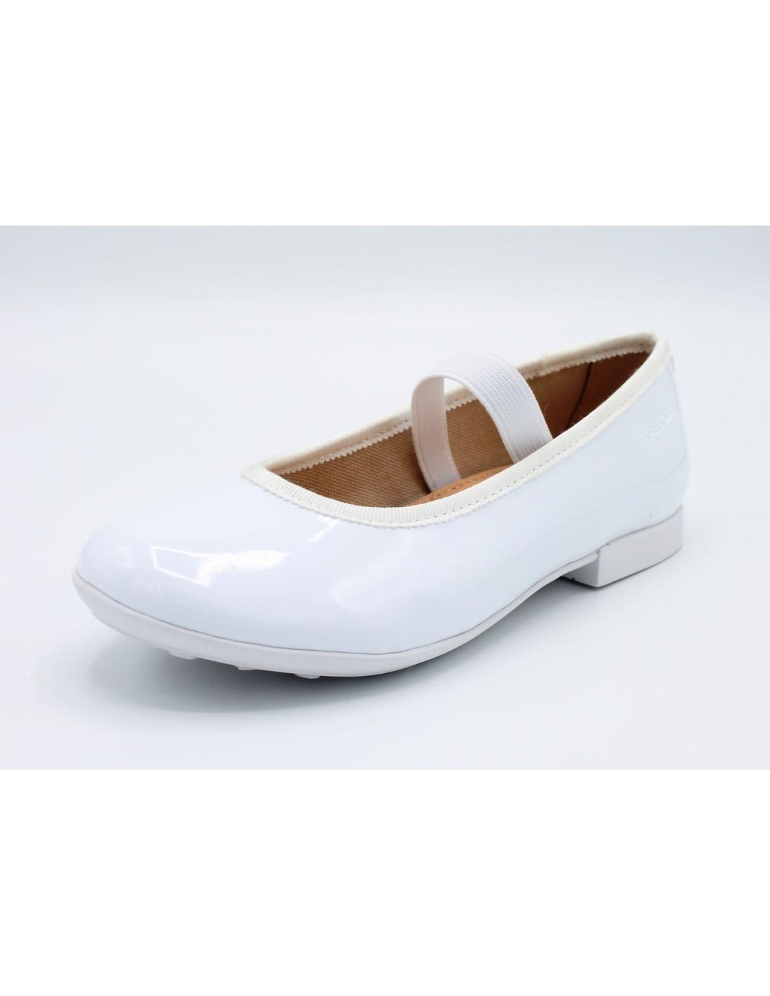 Dettagli su Geox scarpe da Bambina Ballerine Eleganti per Cerimonia Comunione Ragazza Bimba