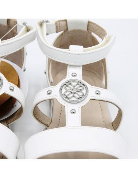 Mayoral sandali da bambina eleganti per cerimonia perla 43043 45043