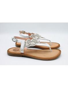 Gioseppo sandali da bambina ragazza donna in cuoio e pelle infradito 45036