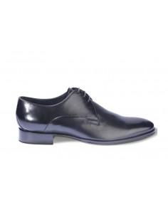 Melluso scarpe uomo classiche in pelle nero suola in cuoi 100% made in italy